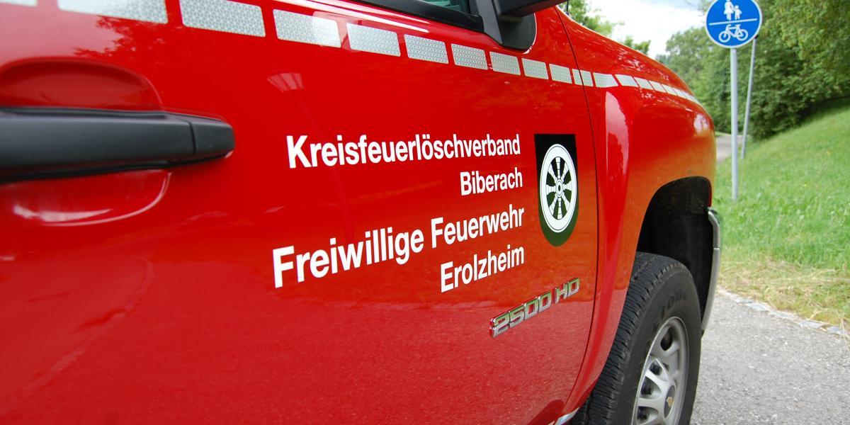 Herzlich Willkommen bei der Feuerwehr Erolzheim